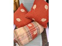 Bailey pageant cushions caravan