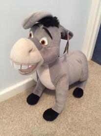 Large donkey from sherk plush