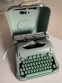 Vintage Hermes 3000 Portable Typewriter