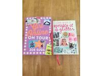 Zoe sugg girl online on tour and life with sprinkle of glitter book
