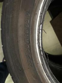 225/50/16 accelera alpha used tyres