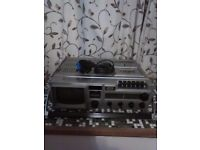 Vintage Waltham Radio/TV/Cassette Recorder in working order