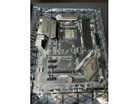 AMD Ryzen 2700x + MSI B450 Tomahawk bundle (with cooler)