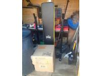Cheap weight bench and weights