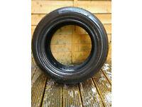 Hancook Ventus 215/55/16v part worn tyre 5.5mm - £8