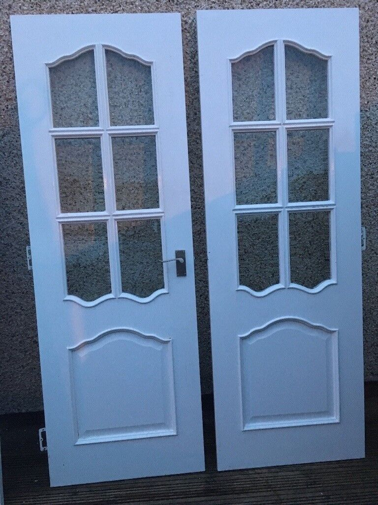 Double internal kitchen/dining doors glazed | in Stepps, Glasgow ...