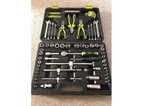 Guild 75 piece 1/4 and 3/8 inch socket set