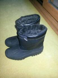 Wellies fur lined