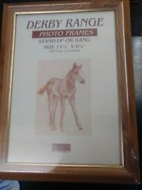 10 Derby Range Photo Frames Sealed and Brand New to Stand up or Hung