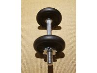 Cast Iron dumbbell 5kg - Streatham