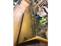 Glass cabinets 6ft