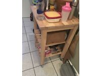 IKEA Kitchen trolley BEKVÄM - second hand, in good condition