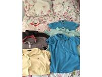 Lyle &a Scott polo shirts bundle