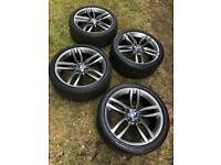 "Bmw 1/2 series wheels 18"""