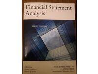 Financial Statement Analysis Third Edition University of Manchester