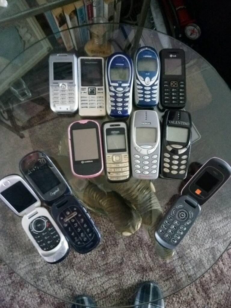 Old mobiles phones