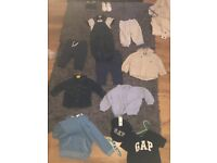 Variety of baby boy clothes 3 months -9/12 months