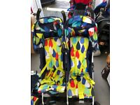 Cosatto to and fro double pram stroller