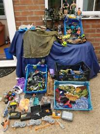 VINTAGE ACTION MAN COLLECTOR HAS COLLECTION FOR SALE £50