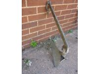 Boat anchor plough type ms