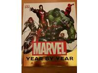 Marvel Year by Year book