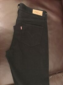 Levi's Jeans Black - Girls/Ladies - W26 L30 - brand new without tags - slim fit but not skinny