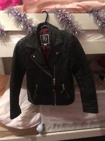 River island pleather jacket