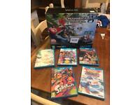 Wii u premium pack with 5 games