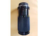 SICOR ZOOM LENS 80-200mm (for Pentax SLR camera)