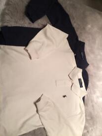 Two boys Ralph Lauren Polo shirts