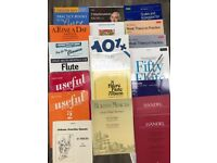 Selection of Flute Books