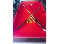 Pool table ex pub 7 ft