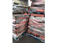 500 X Heras Rubber Feet ~ Used