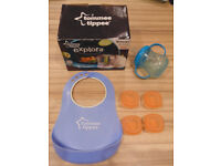 tomme tippee baby food blender with some other bits.