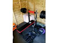 Weights bench package
