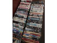 200 DVDs job lot