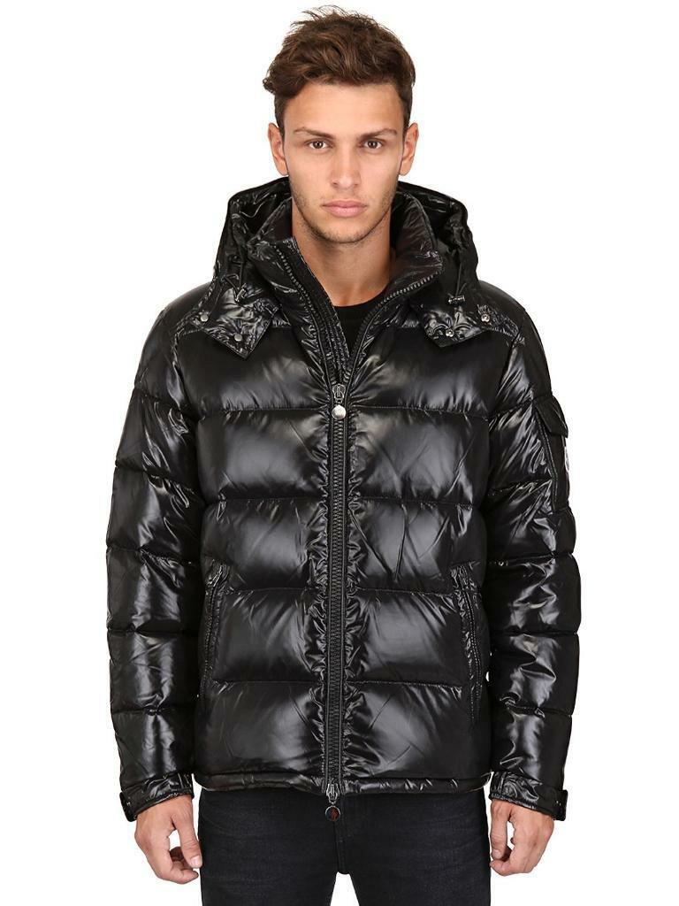 Brand New Men's Moncler Maya Puffer Jacket Black Genuine Size Small to Medium (2)