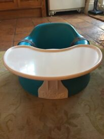 Almost new Bumbo floor seat with tray