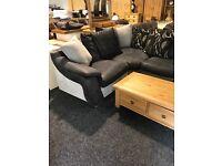 Corner suite with footstool