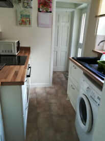A double room in a tidy and quiet house