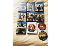 10 PS4 games. All in excellent condition. Please see picture for titles. £45 NO OFFERS. CAN DELIVER