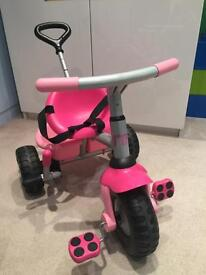 Great used condition girls Pink Mothercare trike ages 18mths +
