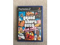 Grand Theft Auto Vice City For Playstation 2