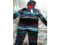 Onesie new with tag size 11 to 12 years