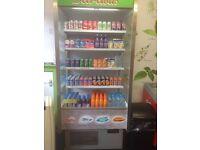 Open display fridge