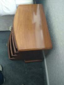 2 Chest of Draws/ Dressers solid Rose wood