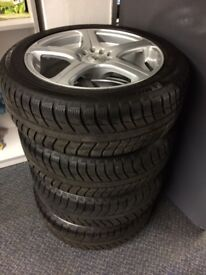 BK Racing alloys with new Michelin tyres