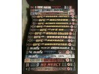 18 MMA, UFC, Pride Fighting DVD's