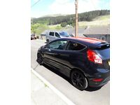 Black ford fiesta 15 plate immaculate condition lovely looking car