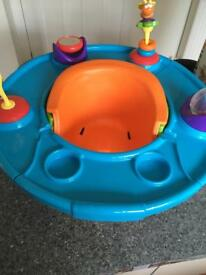Summer Super Seat booster seat snack activity tray